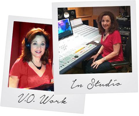 Joyce Partise in Studio
